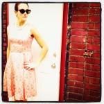 Abby buell, wardrobe courtesy of Star Sturck Vintage Clothing